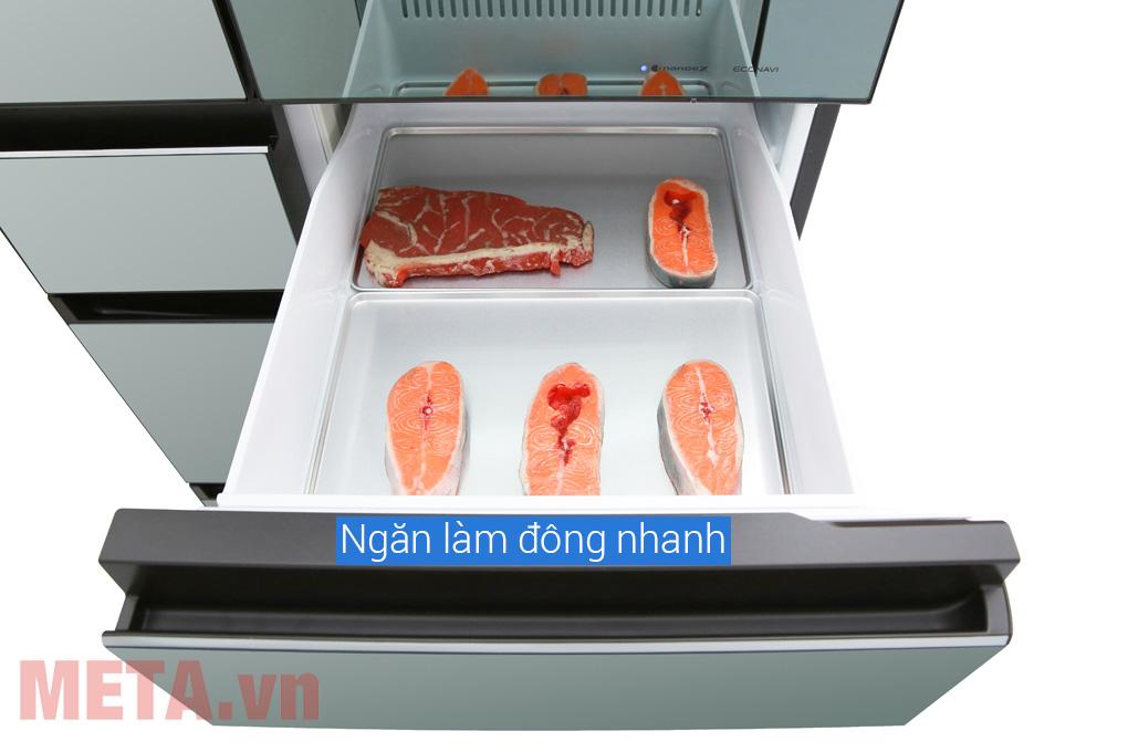 Tủ lạnh làm đông nhanh