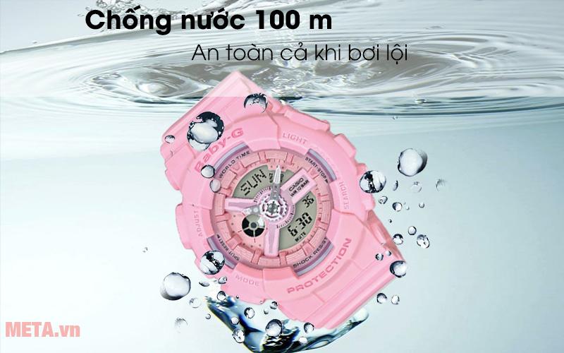 Đồng hồ nữ Baby-G hồng