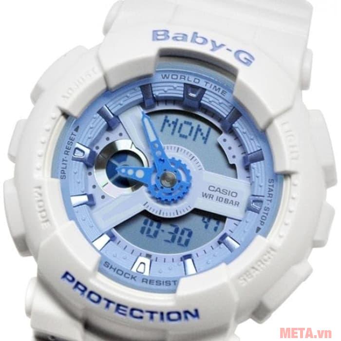 Đồng hồ nữ Baby-G trắng