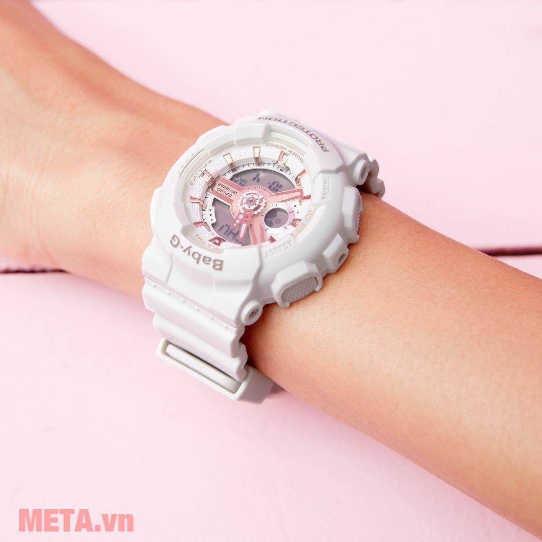 Đồng hồ nữ Baby-G màu trắng