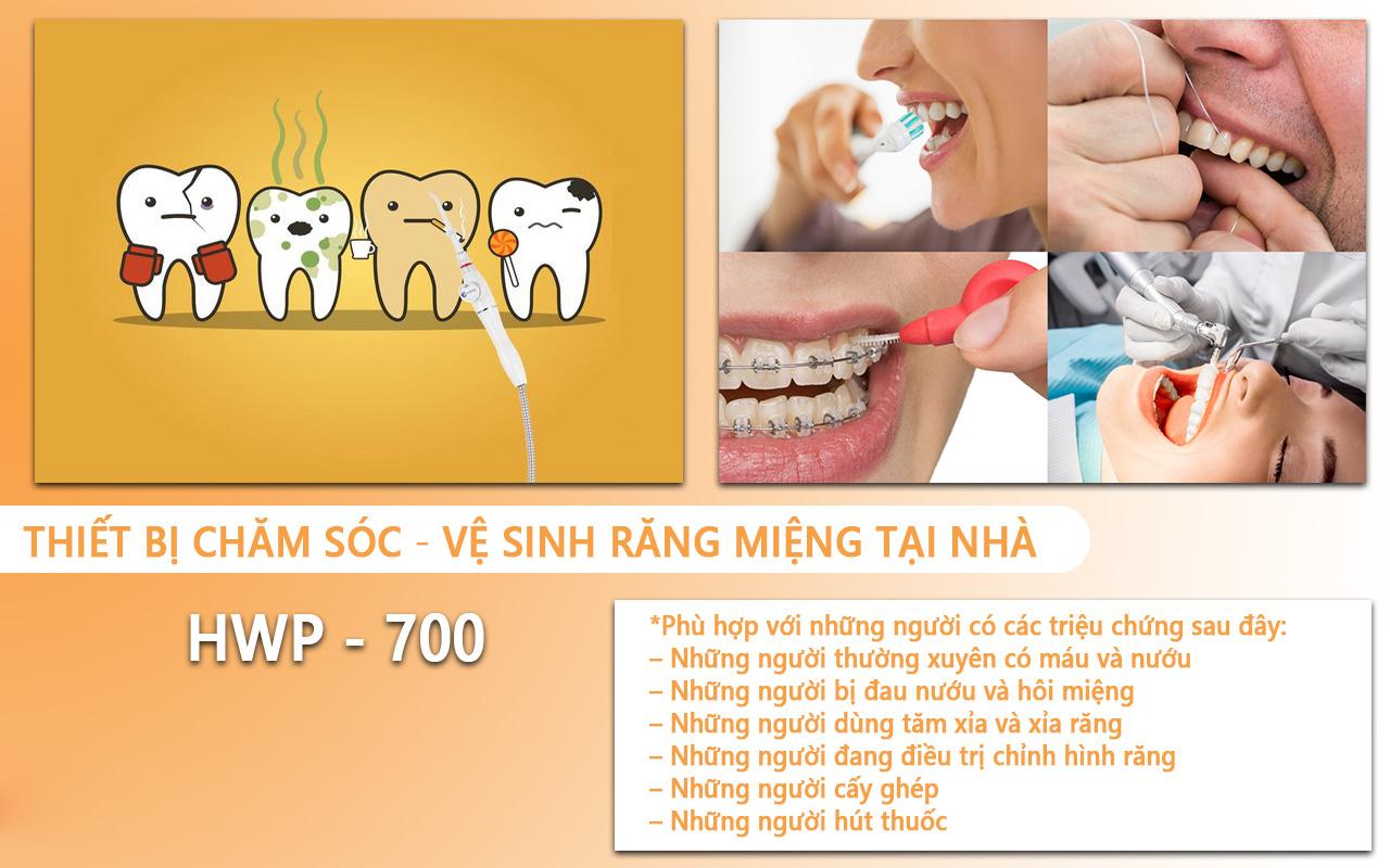 thiết bị vệ sinh răng miệng
