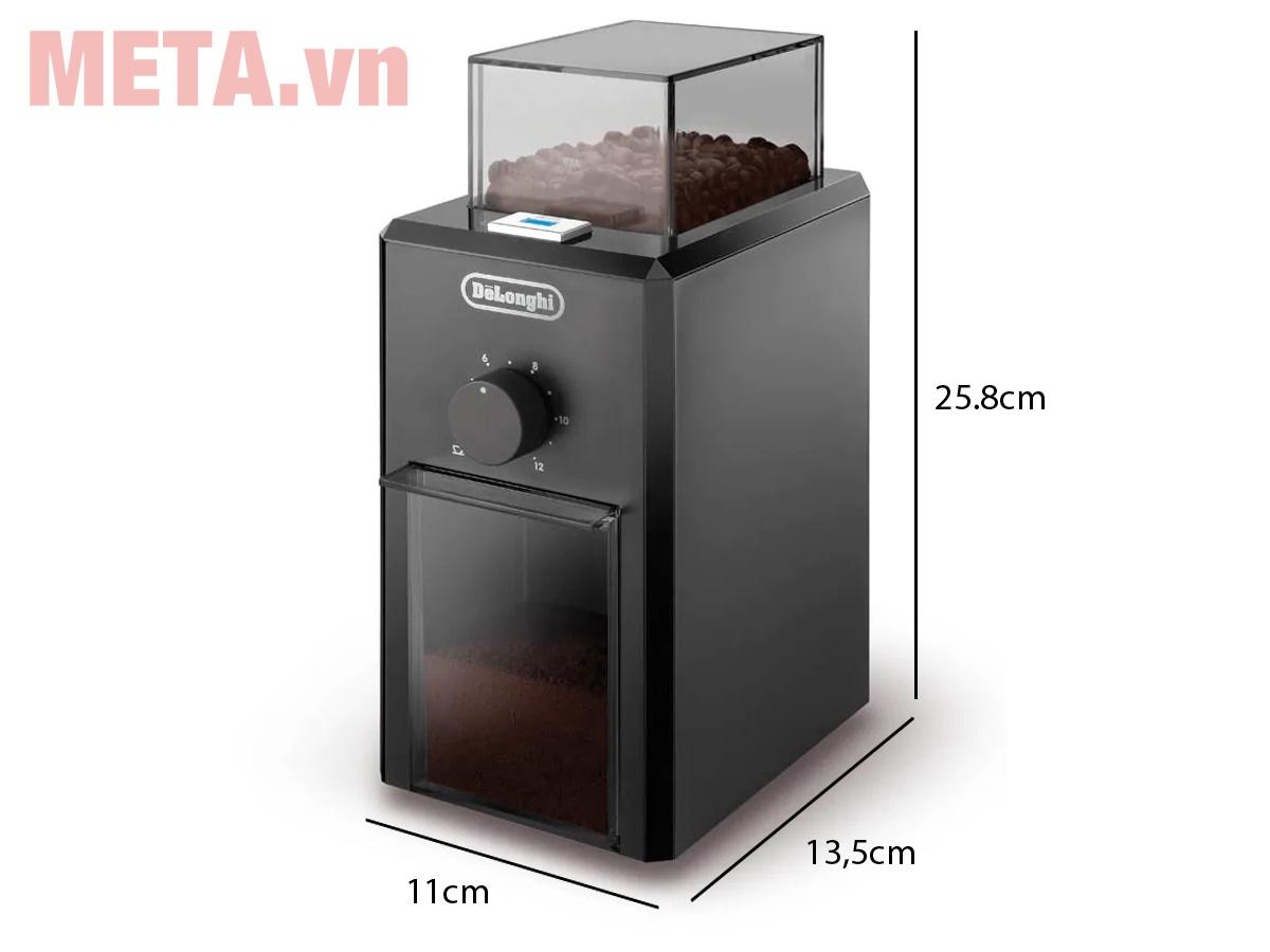 Kích thước của máy xay cà phê