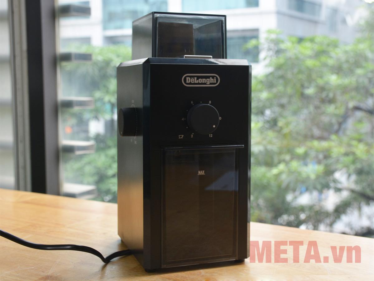 Máy xay cà phê thiết kế màu đen sang trọng