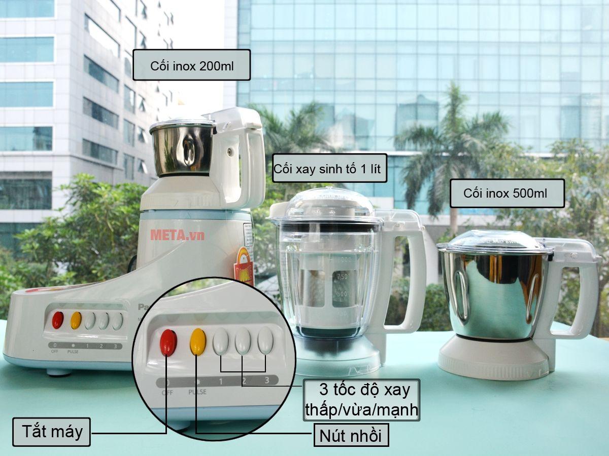 Hình ảnh máy xay đa năng Panasonic MX-AC350WRA