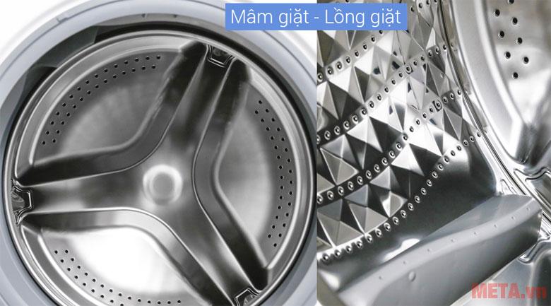 Mâm giặt lồng giặt bằng thép không gỉ
