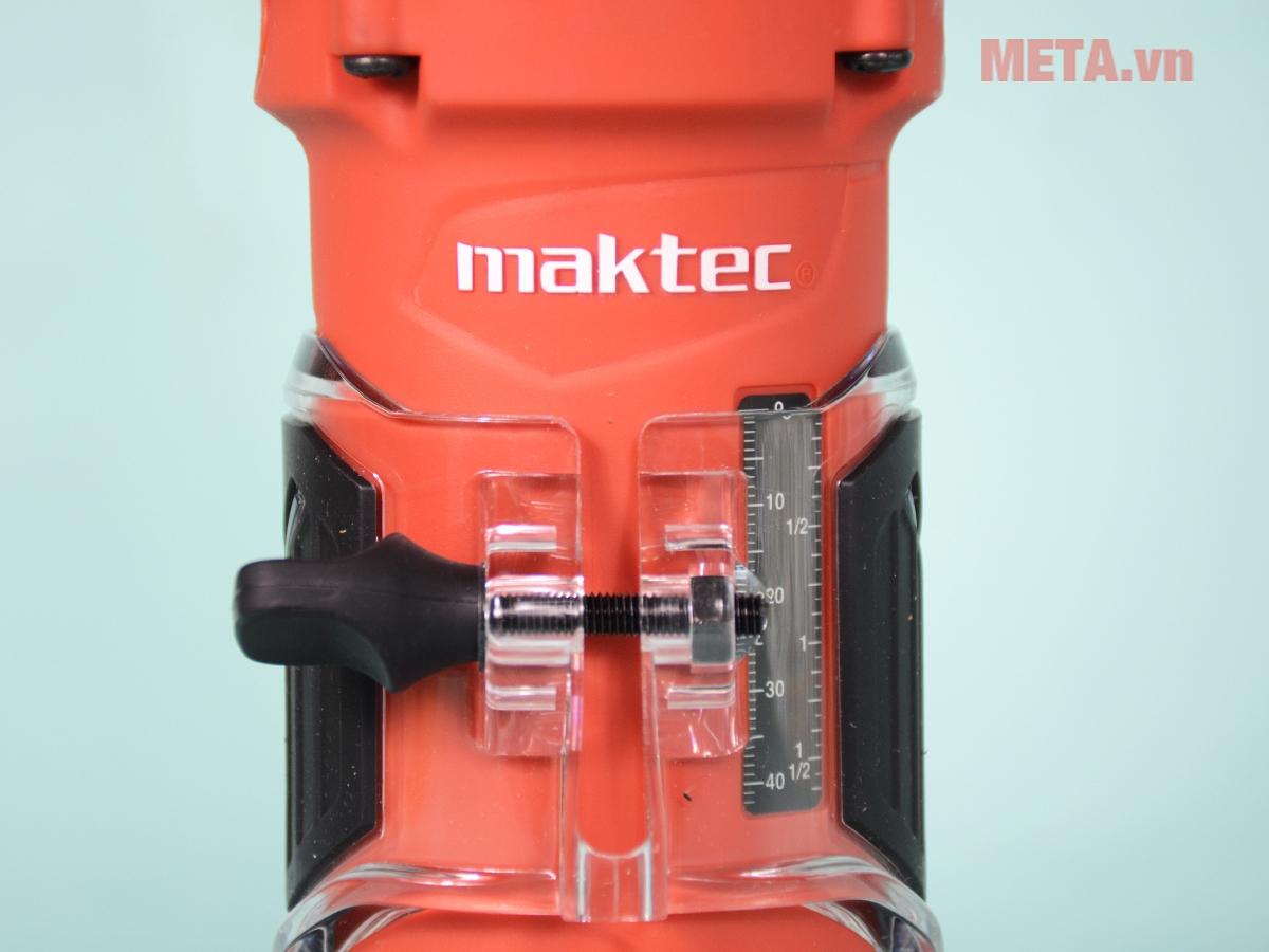 Máy đánh cạnh Maktec MT372 có đế máy trong suốt