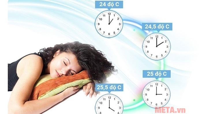 Chế độ ngủ ban đêm an toàn cho gia đình có trẻ nhỏ