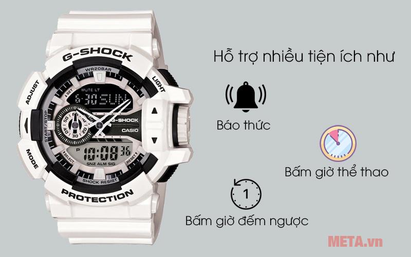 Đồng hồ Casio trắng