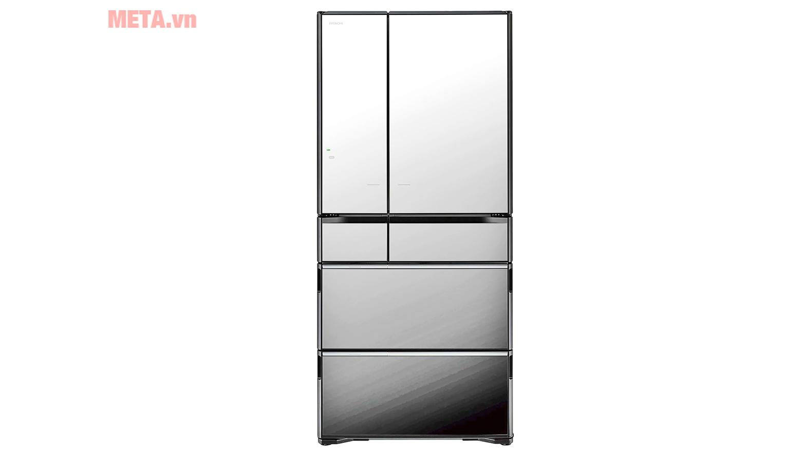 Tủ lạnh Hitachi R-X670GV (X)