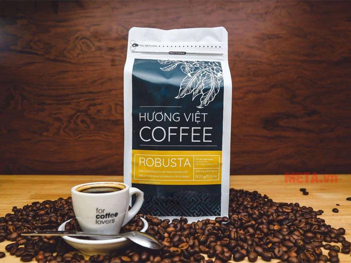 Cà phê Robusta rang mộc 100% nguyên chất