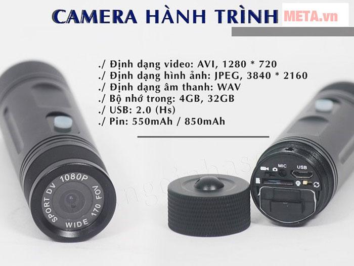 Camera Kachi MK36 cho ra chất lượng hình ảnh sắc nét