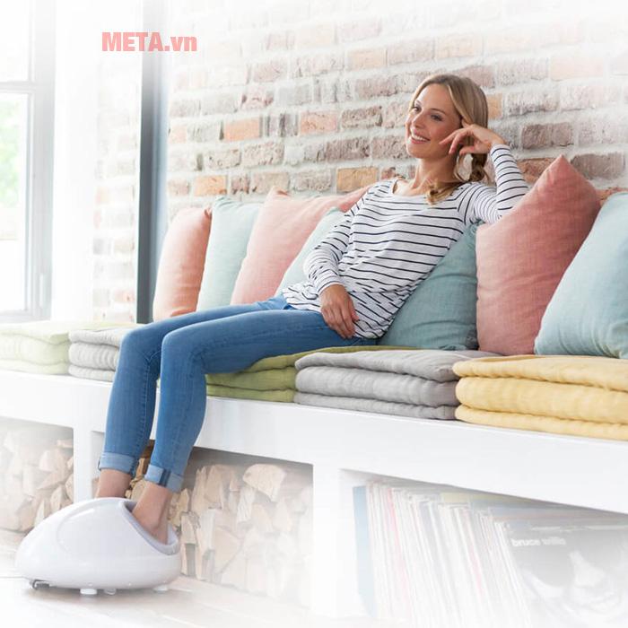 Máy massage chân Medisana