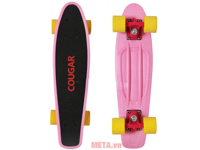 Ván trượt Cougar Penny QJ màu hồng