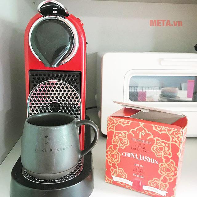 Hộp trà viên nén Tèespresso vị China Jasmin (hộp 10 viên)