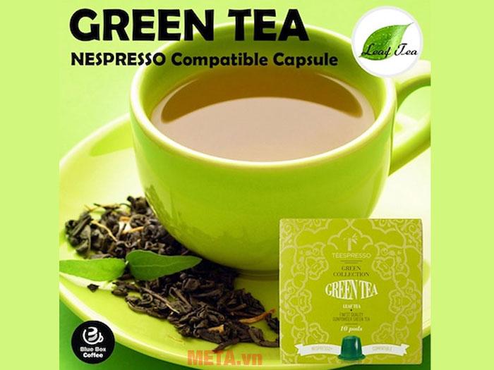 Nước trà xanh mang đậm vị truyền thống