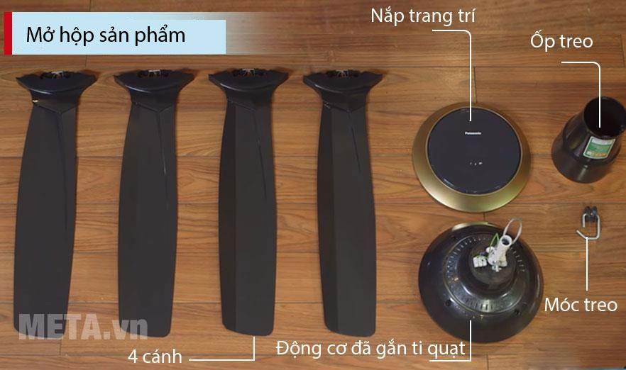 Quạt trần 4 cánh Panasonic