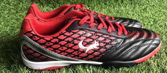 Giày đá bóng Zocker ZTF 1802 màu đỏ đen