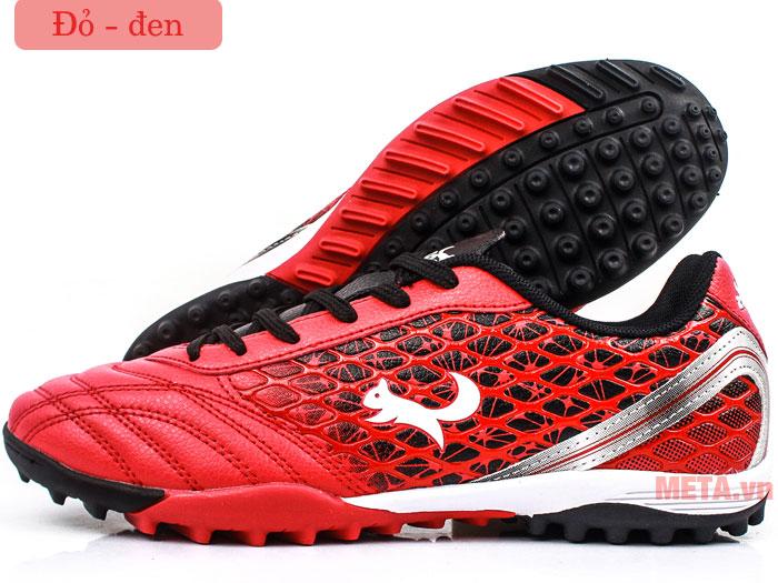 Giày đá bóng Zocker ZTF 18VT màu đỏ - đen