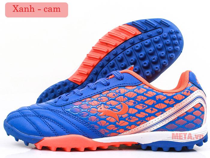 Giày đá bóng Zocker ZTF 18VT màu xanh cam