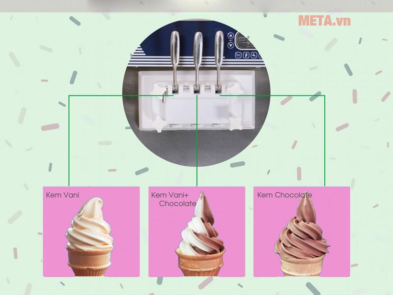 Máy làm kem tươi công nghiệp
