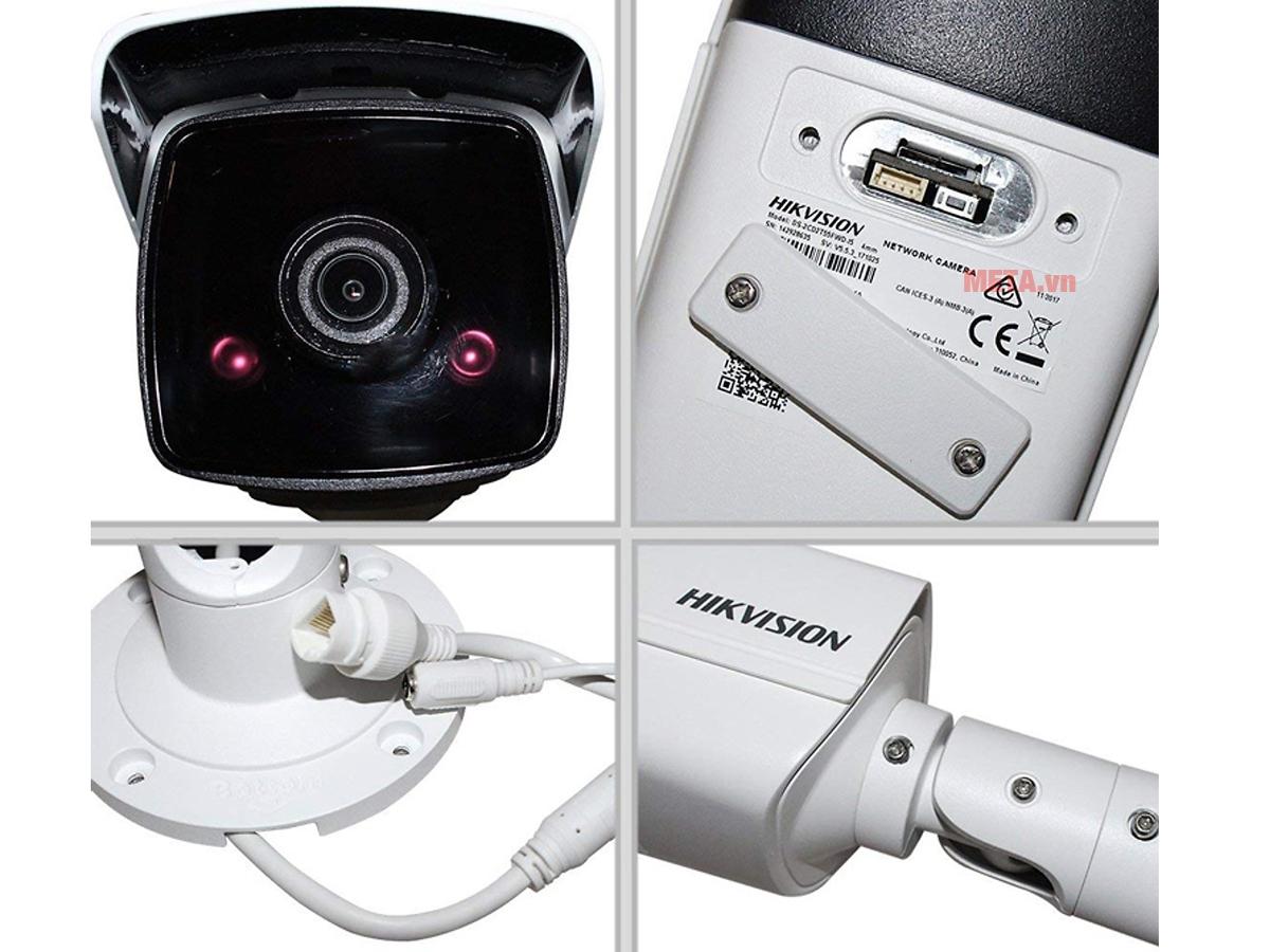 Các chi tiết của camera không dây Hikvision DS-2CD2T43G0-I5