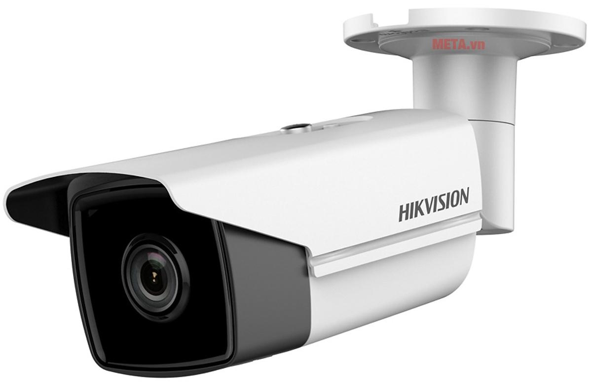 Camera Hikvision DS-2CD2T43G0-I8 có kích thước nhỏ gọn, có thể lắp trong nhà hoặc ngoài trời