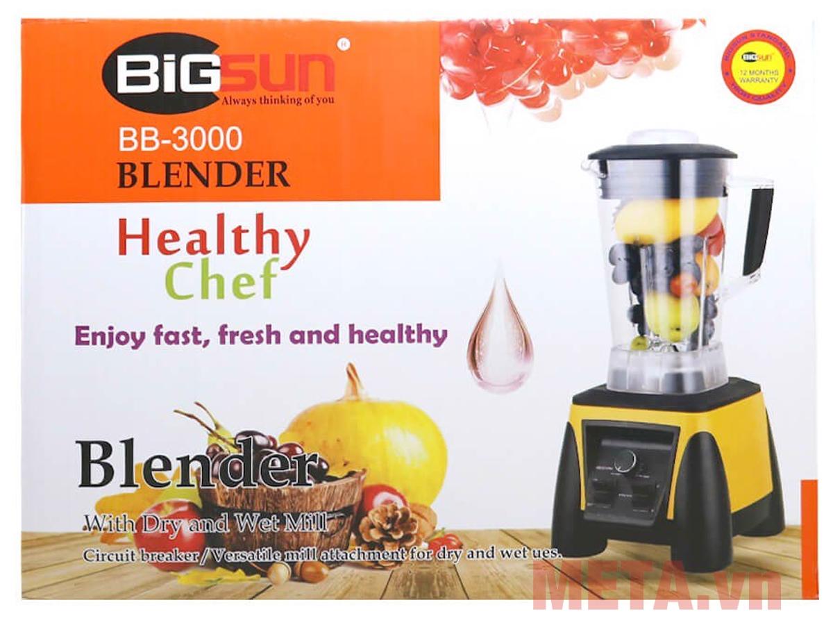 Hộp đựng máy xay công nghiệp Bigsun BB-3000