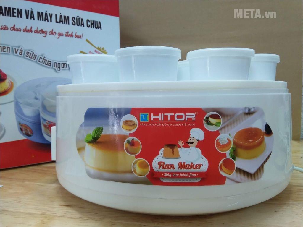 Cách làm sữa chua với máy