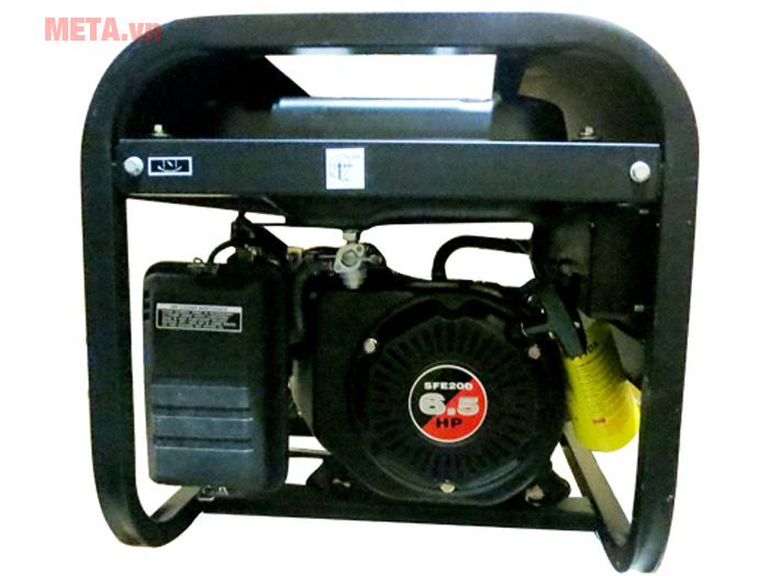 Động cơ mạnh mẽ cung cấp được điện năng cho nhiều thiết bị.