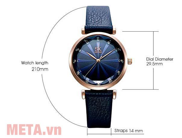 Đồng hồ nữ chính hãng Shengke