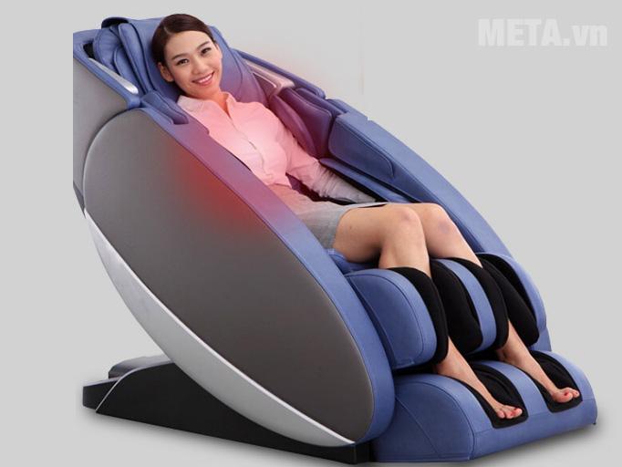 Ghế có hệ thống massage bằng nhiệt nóng