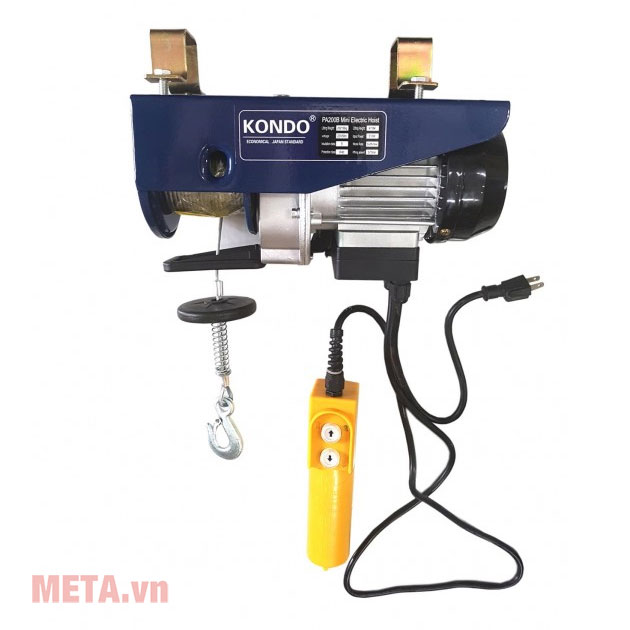 Tời điện Kondo PA600