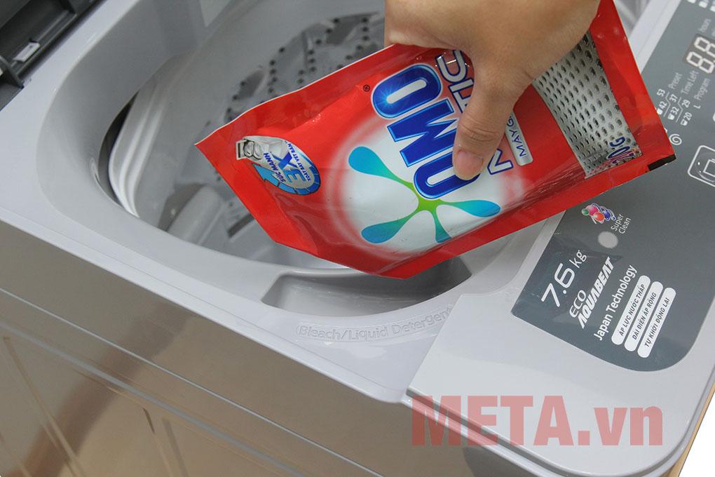 Máy giặt cửa trên 7.6kg
