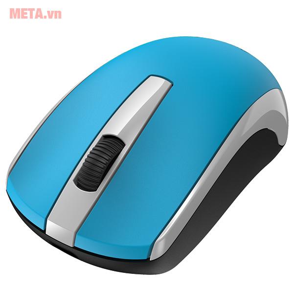 Chuột không dây màu xanh dương