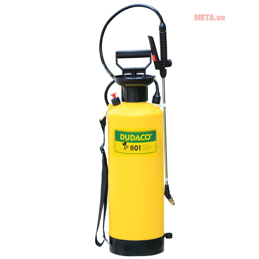Bình phun hóa chất béc xoay Dudaco B801 8 lít (cần inox)