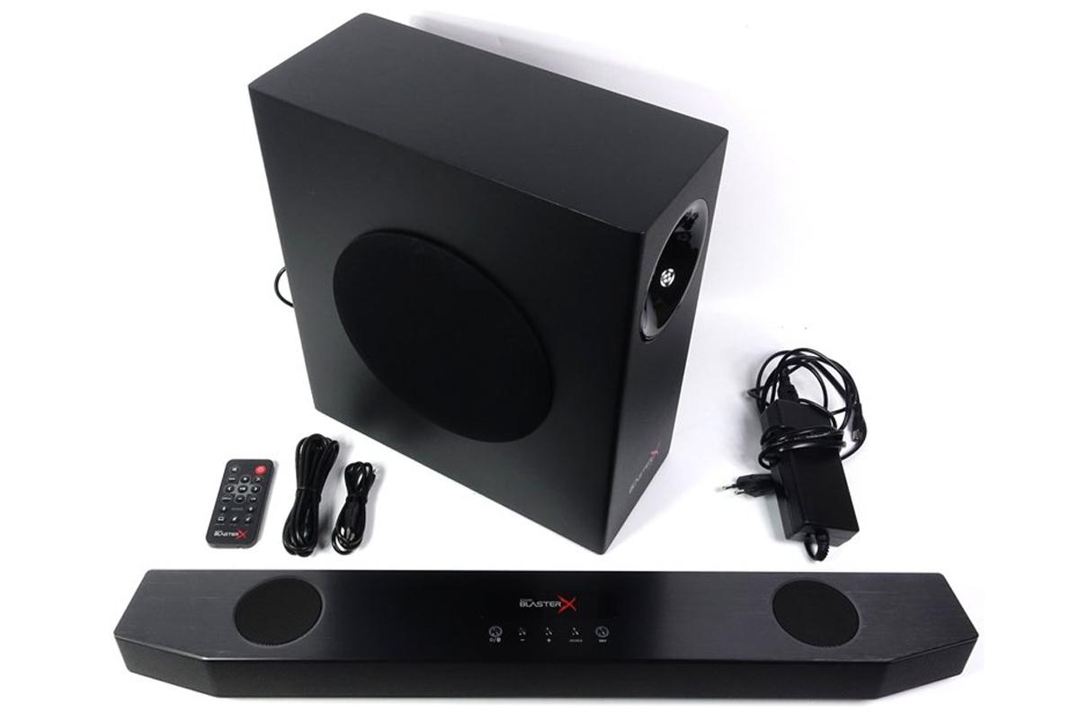 Loa Creative Soundbar Sound BlasterX Katana (7.1) LED RGB