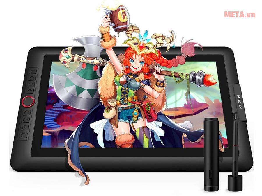 Tự tin vẽ, phác thảo, thiết kế trên XP-Pen Artist 15.6 inch Full HD