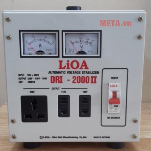 Ổn áp 1 pha Lioa 2KVA DRI 2000