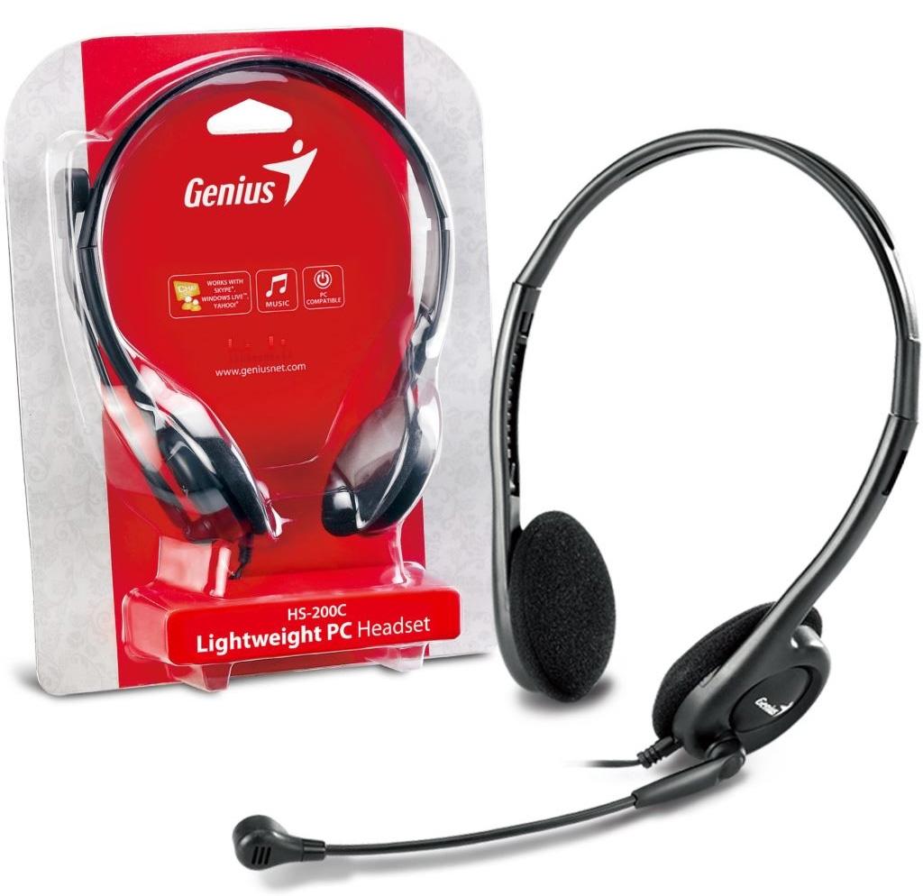Bộ nghe nói Genius (Headset) HS-M200C