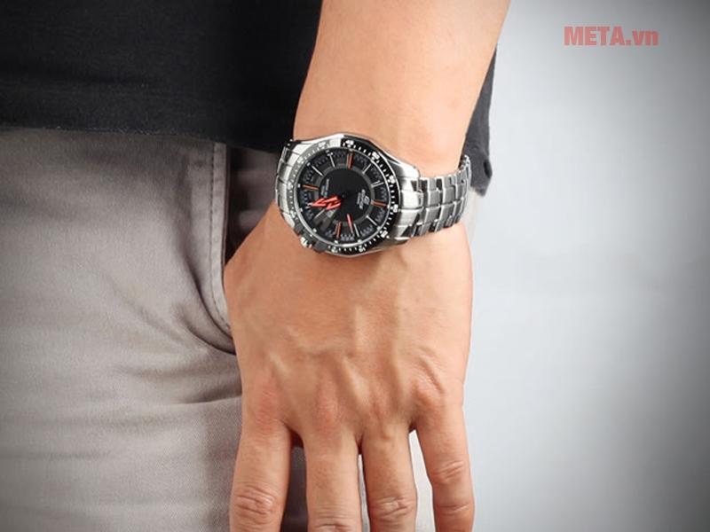 Đồng hồ kim nam mặt tròn