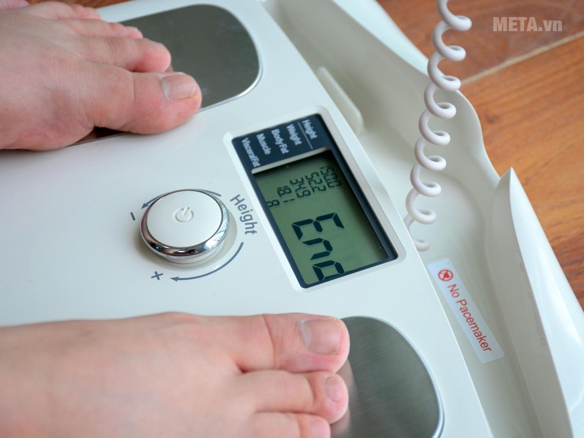 Cân sức khỏe đo chỉ số mỡ