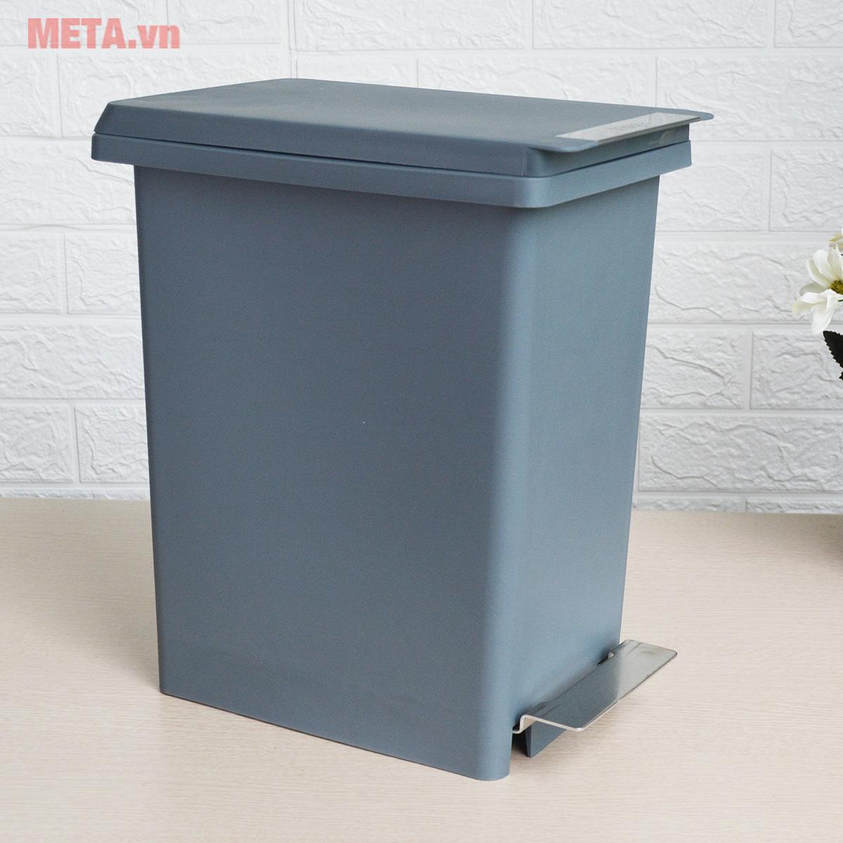Thùng rác nhựa đạp dòng Compact Fitis PPS1-906