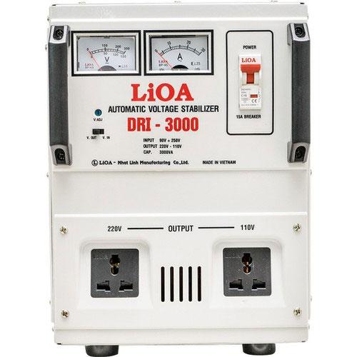 Ổn áp 1 pha Lioa 3KVA DRI 3000 có chất liệu cao cấp