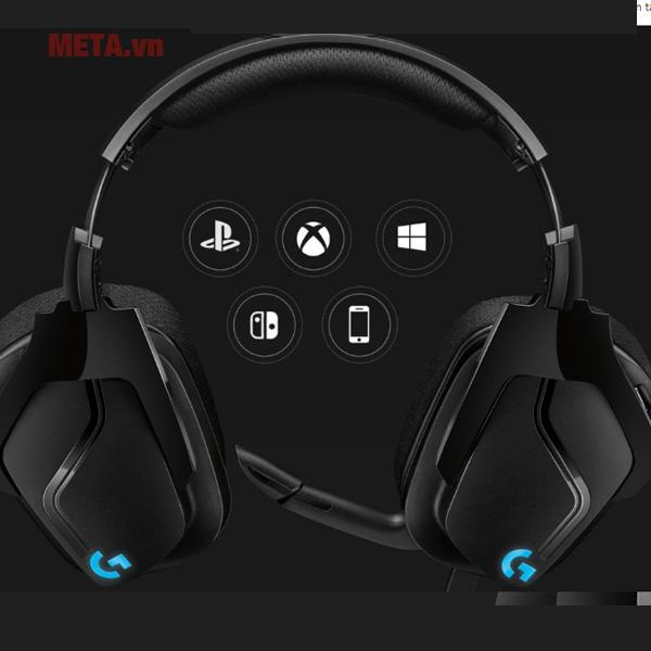 Tai nghe gaming Logitech