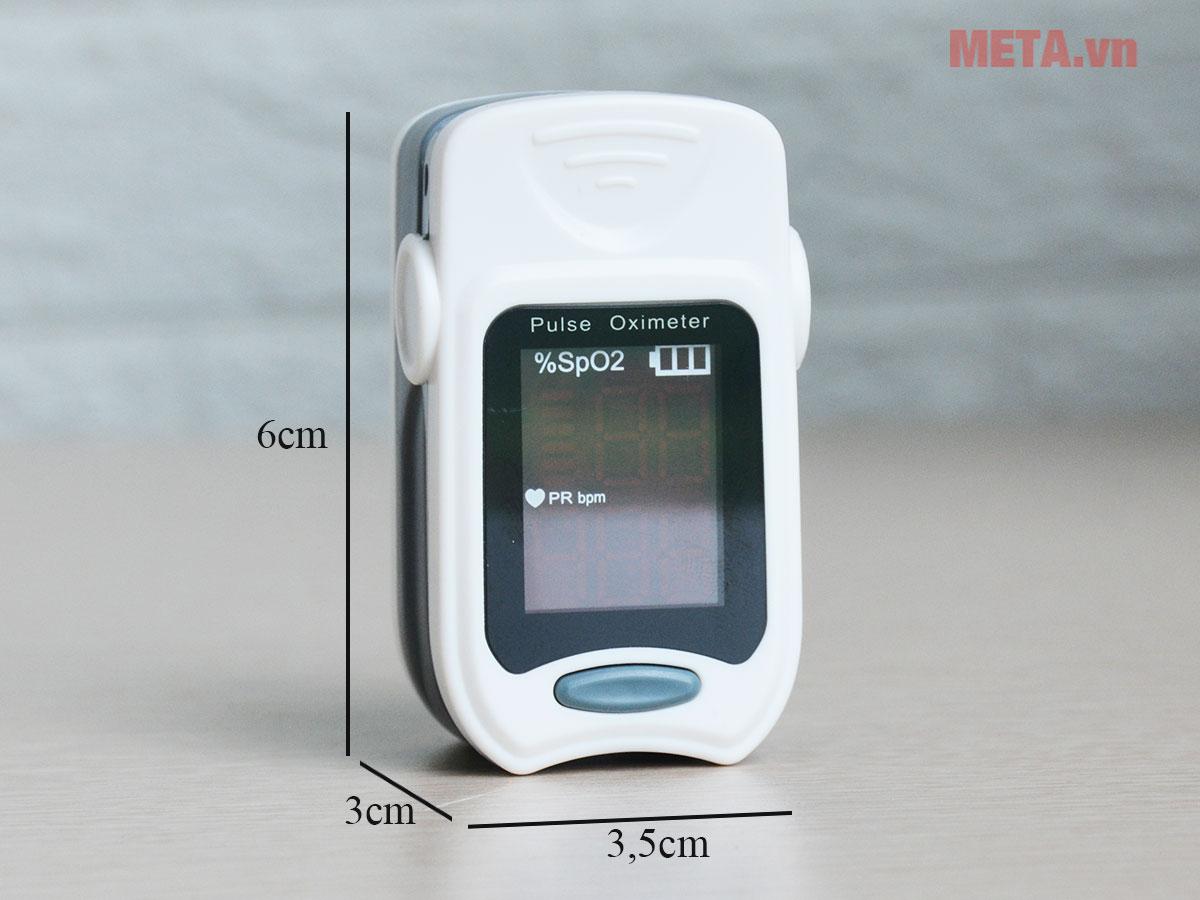 Kích thước máy đo nhịp tim
