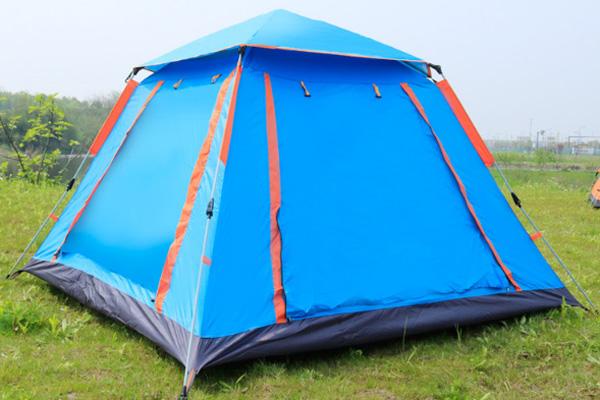 lều xanh da trời