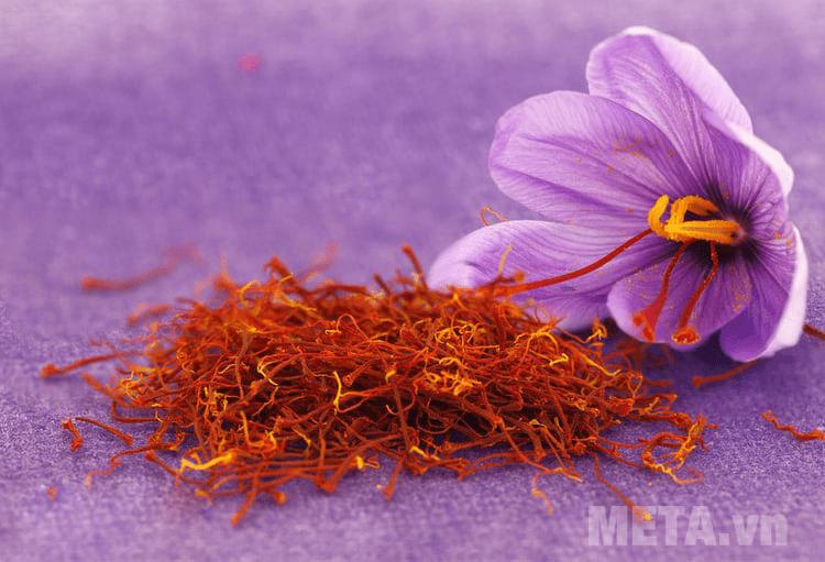 Nhụy hoa nghệ tây an toàn cho sức khỏe