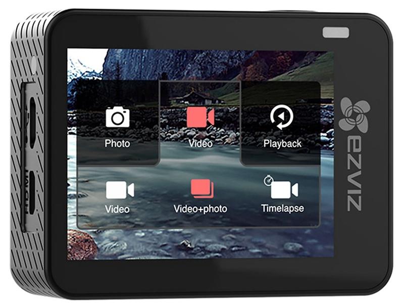 Camera Ezviz S2 có màn hình cảm ứng, dễ dàng sử dụng