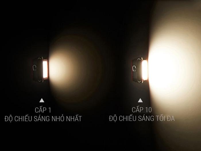 Đèn đi phượt tích điện LED