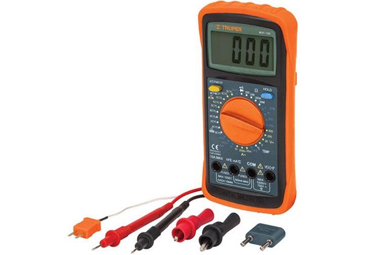 Đồng hồ vạn năng đo dòng điệN